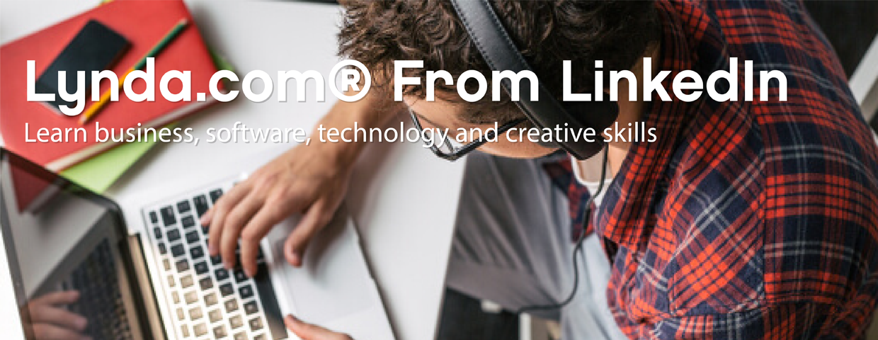 Lynda.com from LinkedIn - learn business, software, technology and creative skills